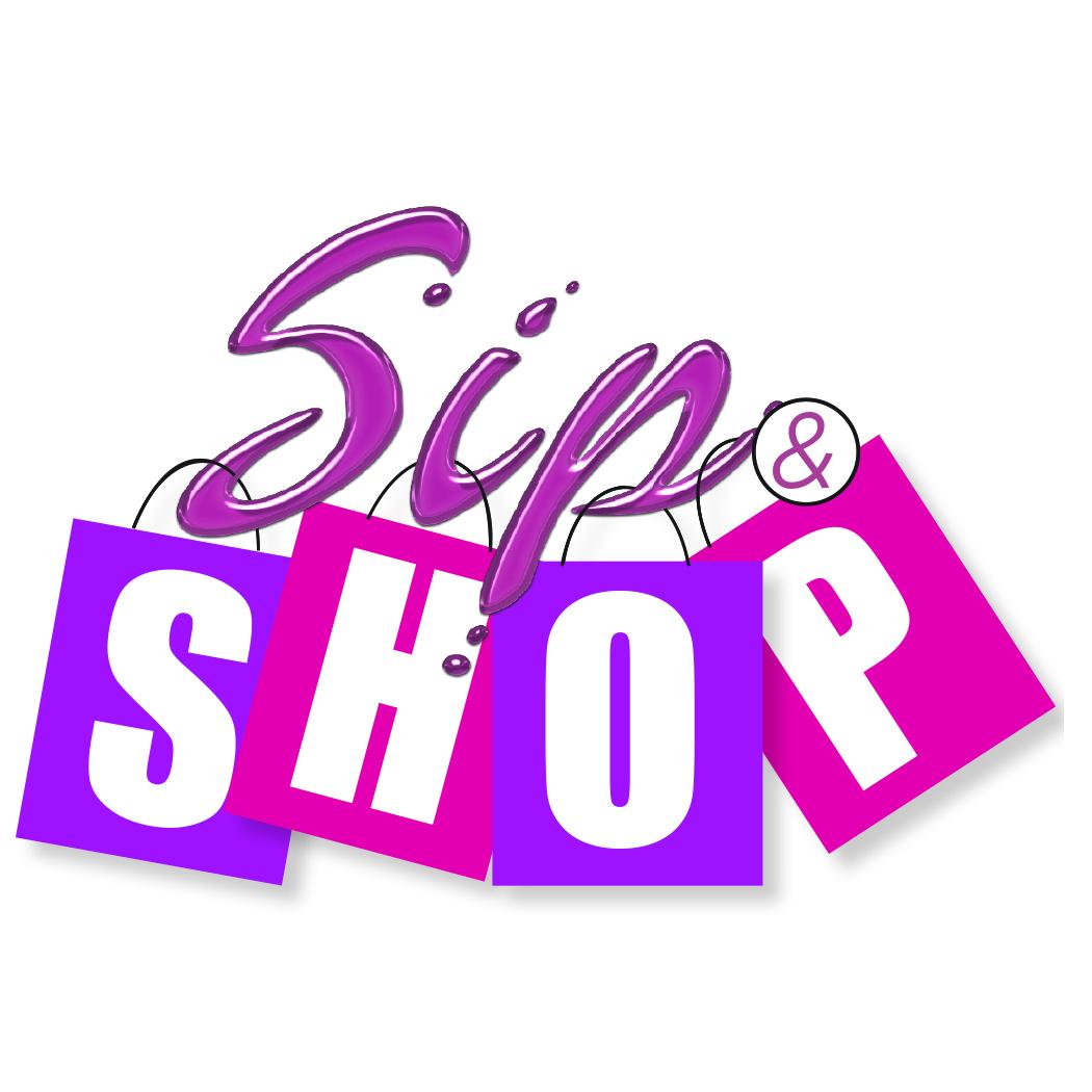 Sip & Shop Logo